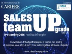 Sales Team UPgrade 2016 - Evenimentul directorilor de vanzari