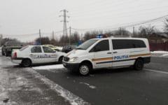 Salvarea soferilor din masinile intepenite in nameti, printre misiunile politistilor din ultimele zile