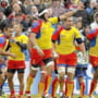 Sambata, Romania - Tonga la rugby