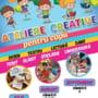 Sambata, ultima editie a atelierelor creative pentru copii