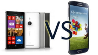 Samsung Galaxy S4 vs. Nokia Lumia 925 - Care e mai tare