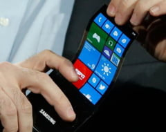 Samsung Galaxy S6 ar putea avea ecranul flexibil (Video)