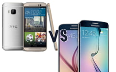 Samsung Galaxy S6 vs HTC One M9: Care e cel mai tare telefon cu Android?
