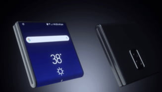 Samsung Galaxy X: Cum ar putea functiona ecranul telefonului pliabil al sud-coreenilor (VIDEO)