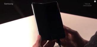 Samsung a prezentat oficial primul sau smartphone pliabil. Iata specificatiile si pretul exorbitant al Galaxy Fold (Video)