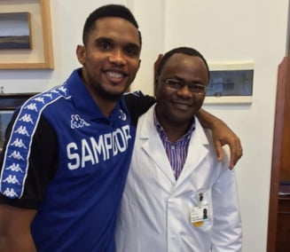 Samuel Eto'o a trecut vizita medicala la noul sau club din Italia