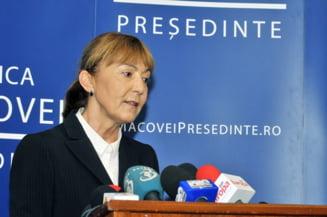 Sansele Monicai Macovei sa ajunga presedintele Romaniei (Opinii)