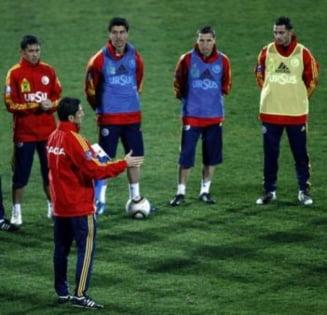 Sansele Romaniei de calificare la Euro 2012
