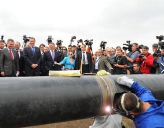 Santierul gazoductului Iasi-Ungheni, abandonat la doar doua zile de la inaugurare