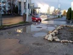 Sapaturi si asfaltari de ianuarie la Brasov