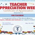 Saptamana Aprecierii Profesorilor la Complexul Educational Laude-Reut