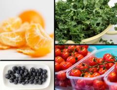 Sapte alimente ideale pentru piele iarna
