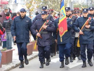 Sapte jandarmi braileni au fost avansati in grad cu ocazia Zilei Nationale