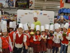 Sarbatoarea Gustului la Carrefour: Elevii invata meserie de la bucatari celebri