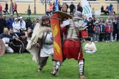 Sarbatoarea judetului Buzau, cu soldati romani, gladiatori si ateliere de prelucrare a osului