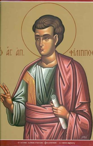 Sarbatori religioase - 14 noiembrie. Povestea Sfantului Apostol Filip