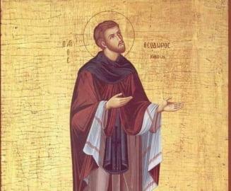 Sarbatori religioase - 16 mai. Povestea Sfantului Cuvios Teodor cel Sfintit
