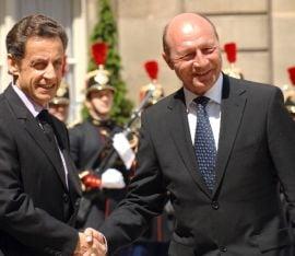 Sarkozy ii transmite condoleante lui Basescu pentru victimele inundatiilor