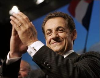 Sarkozy l-a felicitat pe Basescu cu ocazia Zilei Nationale a Romaniei