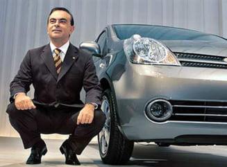 Sarkozy se intalneste cu presedintele Renault