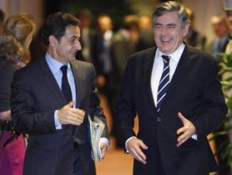 Sarkozy si Brown: Este nevoie de schimbarea totala a sistemului financiar