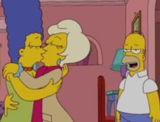 Sarut lesbian in The Simpsons