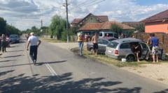 Sase raniti intr-un accident, la Serbanesti. Doua autoturisme implicate