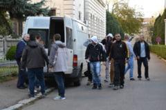 Sase traficanti de droguri au fost arestati preventiv