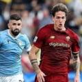 """Scântei la derby-ul Lazio - Roma: un jucător i-a """"salutat"""" pe fanii adverși cu un gest obscen. Fotbalistul a avut o scurtă idilă cu Mădălina Ghenea VIDEO"""