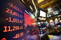 """Scaderi pe bursele americane. Indicii de pe Wall Street au ajuns pe """"rosu"""""""