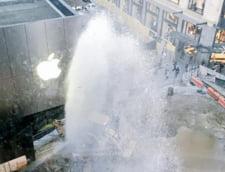 Scandal de proportii pentru Apple: un magazin a luat foc, dar era din cauza unui iPhone