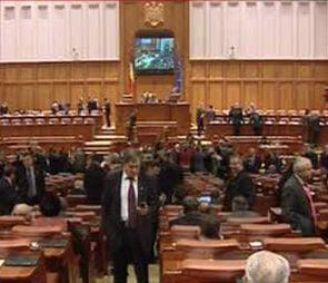 Scandal in Camera Deputatilor provocat de votarea unui nou judecator la CCR