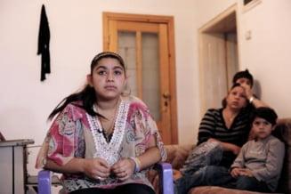 Scandal in Franta, din cauza expulzarii unei tinere de etnie rroma