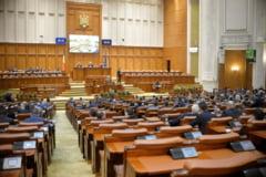 Scandal in Parlament, la dezbaterea bugetului. Opozitia a criticat proiectul, iar Teodorovici a raspuns cu atacuri la persoana