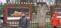 Scandal in Saptamana Mare la Iasi: expozitie stradala de nuduri in Copou
