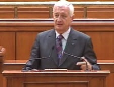Scandal in Senat intre Putere si Opozitie, finalizat prin suspendarea lucrarilor