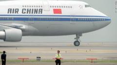 Scandal in aer: Bataie intre pasagerii unui avion, din cauza unui... bebelus