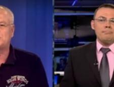 Scandal in direct, la Digi24: Nicolicea, dat afara din emisiune dupa ce l-a jignit pe Moise Guran (Video)