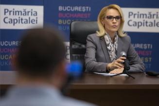 Scandal in direct intre Basescu si Firea dupa ce fostul presedinte i-a cerut sa spuna de ce a falimentat Bucurestiul