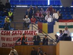 Scandal in handbalul romanesc: Steagul Ungariei, arborat in Sala Sporturilor din Cluj!