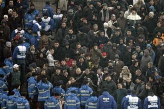 Scandal in tribunele National Arena, la amicalul Romania-Uruguay