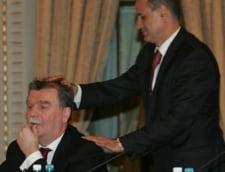 Scandal la Rapid: Dinu Gheorghe vrea sa plece dupa o cearta cu George Copos