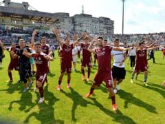 Scandal la Rapid dupa promovare: Un fotbalist de baza a vrut sa plece de la echipa