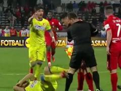 Scandal la vestiare dupa Dinamo - Steaua: Hamroun, lovit de un dinamovist