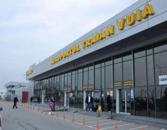 Scandal monstru facut de un afacerist sibian pe aeroport la Timisoara - Politia l-a oprit sa urce in avion