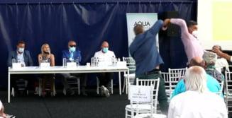 Scandal uriaș la Federația de Tenis! Un membru afiliat a fost îmbrancit în timp ce-l ataca dur pe Ion Țiriac. A fost chemată Poliția și Ambulanța VIDEO