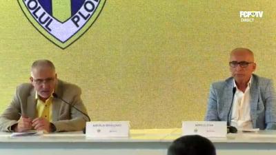 Scandal urias la Petrolul: Sponsorul principal si-a anuntat plecarea dupa ce fanii au intrerupt conferinta de presa!