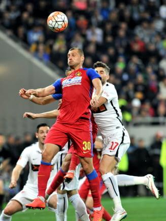 """Scandal urias la Steaua! Gabi Tamas a fost prins din nou """"in offside"""""""
