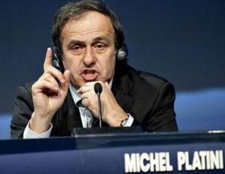 Scandal urias la UEFA. Platini risca puscaria, Europa League poate fi suspendata!