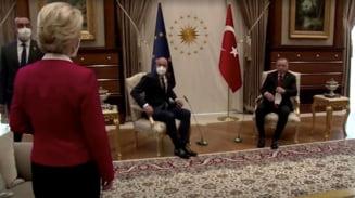 """Scandalul """"Sofagate"""". Grupurile politice din Parlamentul European le cer liderilor UE sa se impace dupa incidentul de protocol de la intalnirea cu Erdogan"""